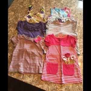 Other - Bundle of girls short sleeve tops